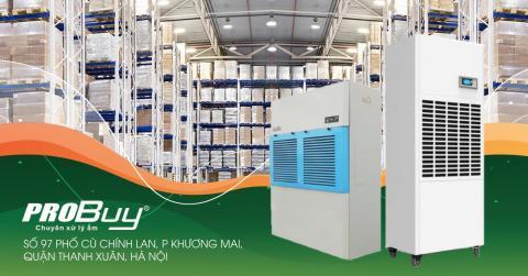 Kinh nghiệm chọn mua máy hút ẩm công suất lớn cho nhà xưởng