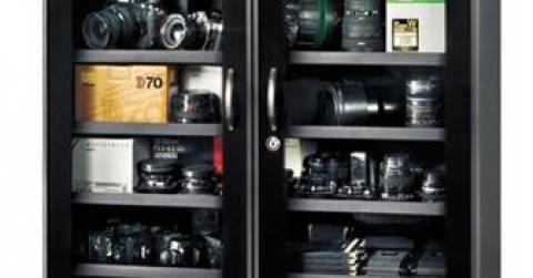 Xả kho giá gốc Tủ chống ẩm chuyên dụng Fujie DHC 350 từ 23/4 - 31/5
