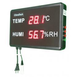 Đồng hồ nhiệt ẩm hiện số lớn Climatech CT-85100LD