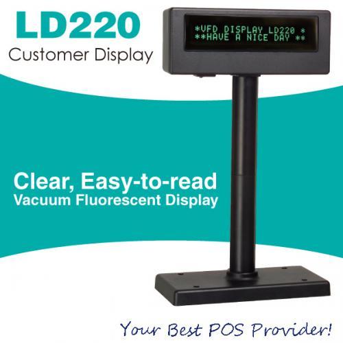 Màn hình hiển thị giá UTG LD220
